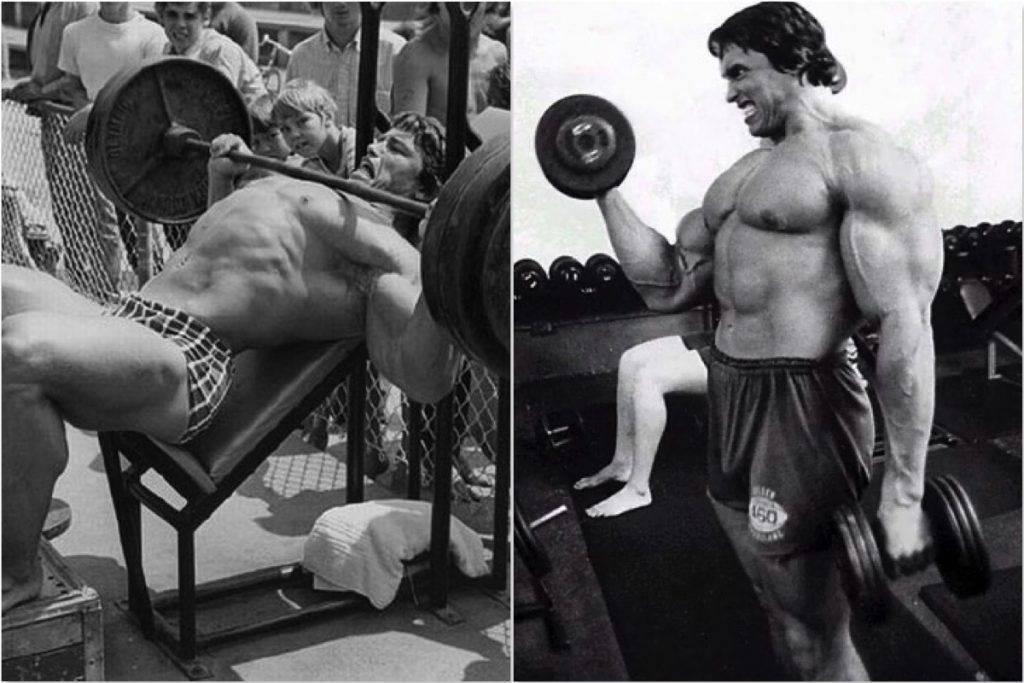 Тренировки арнольда шварценеггера: советы для груди и спины | бомба тело