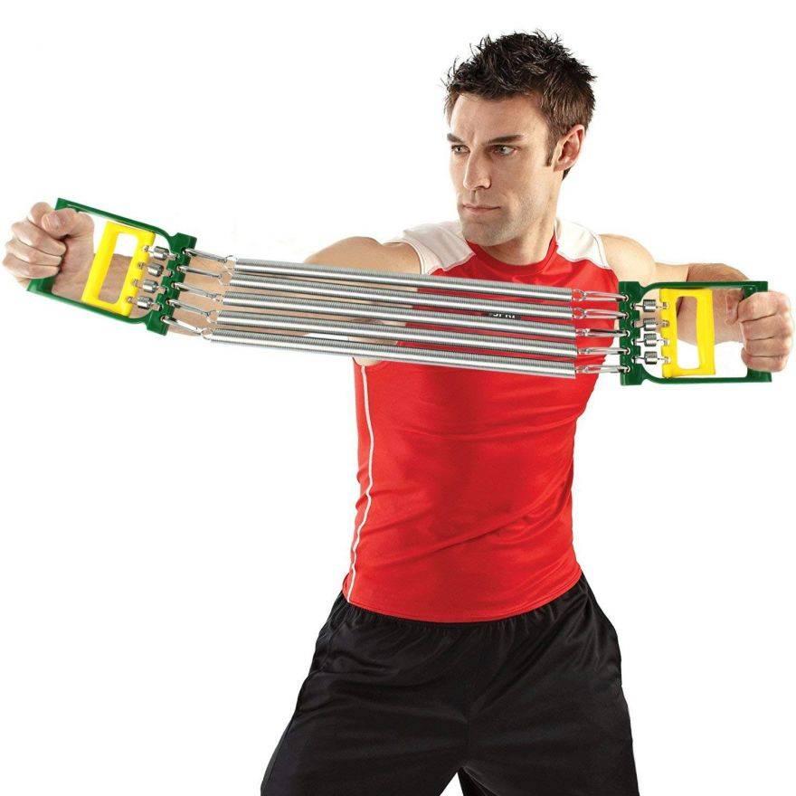 Пружинный эспандер: комплекс упражнений для всего тела