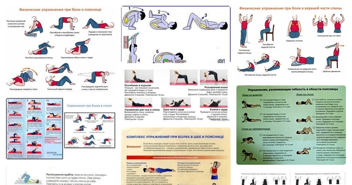 Болит спина: что делать?