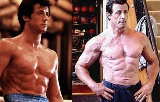 Тренировки и питание сильвестра сталлоне