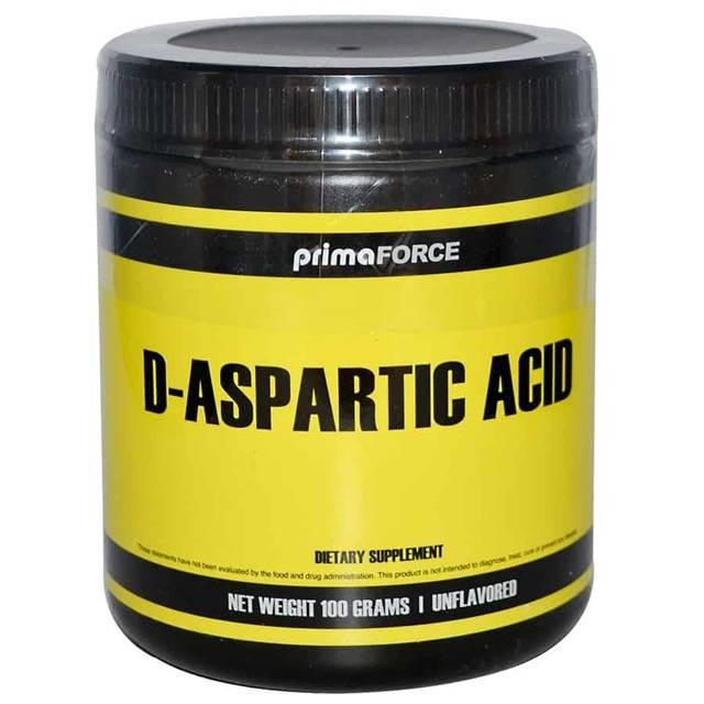 Д-аспарагиновая кислота для построения мышечной массы