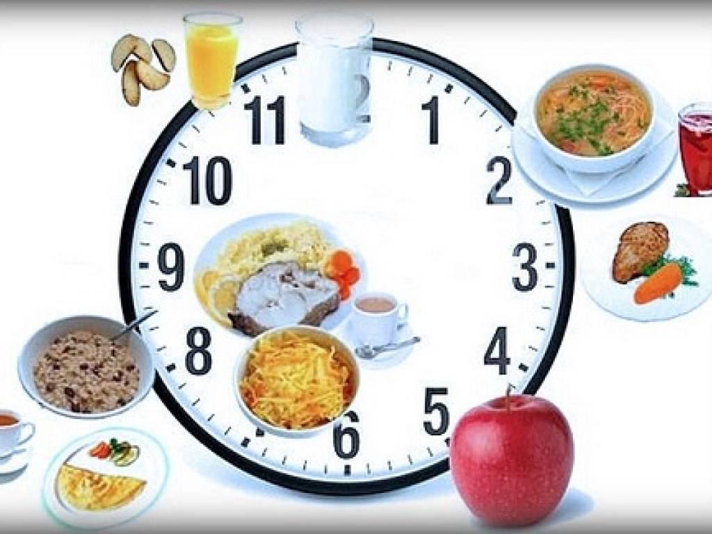 Принципы дробного питания при похудении