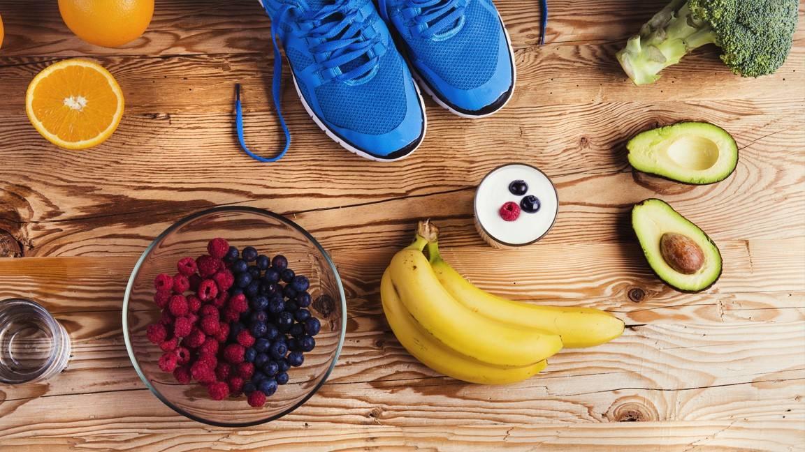 Правильное питание при занятиях в спортзале