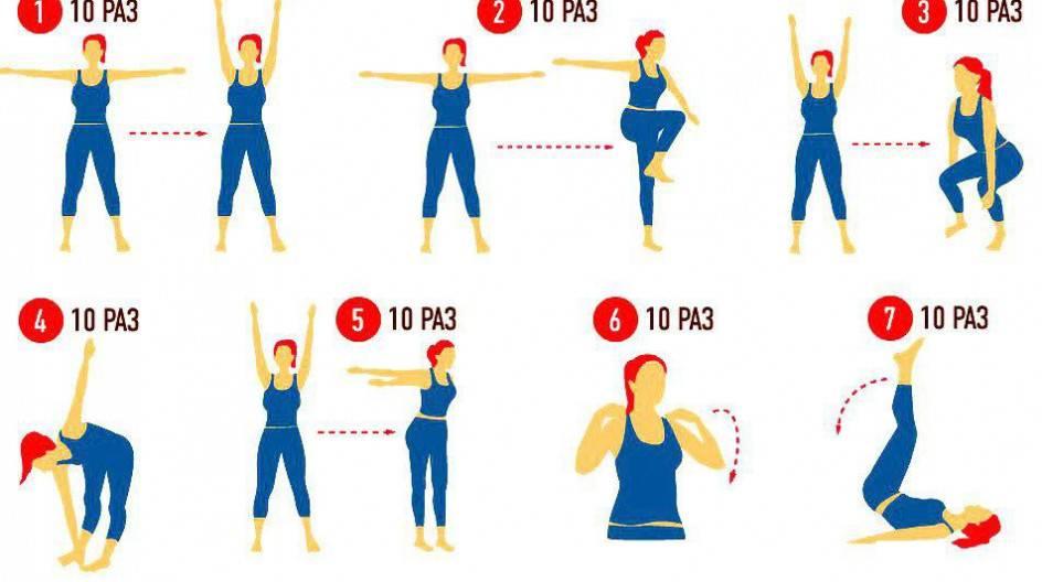 Зарядка для похудения: когда лучше делать, утренняя физкультура в домашних условиях, упражнения для живота, для тех, кому за 50, вечерняя гимнастика