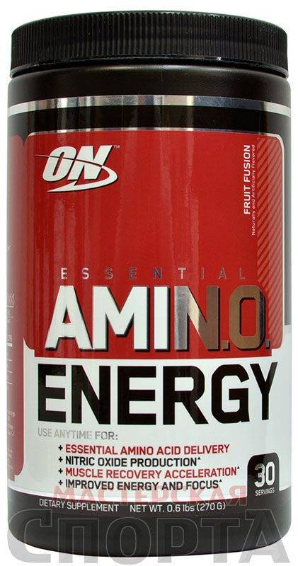 Выбираем комплекс аминокислот от optimum nutrition