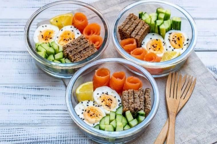 Правильное питание для похудения: меню на неделю/на день