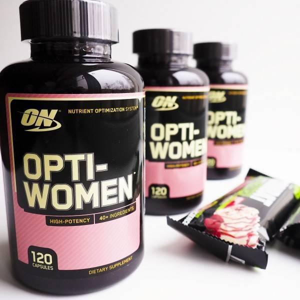 Витамины опти-вумен