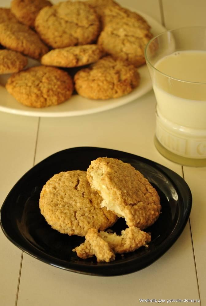 Овсяное печенье с творогом?: как приготовить диетические десерты - рецепты [2018] из хлопьев, муки и с бананами | диеты и рецепты