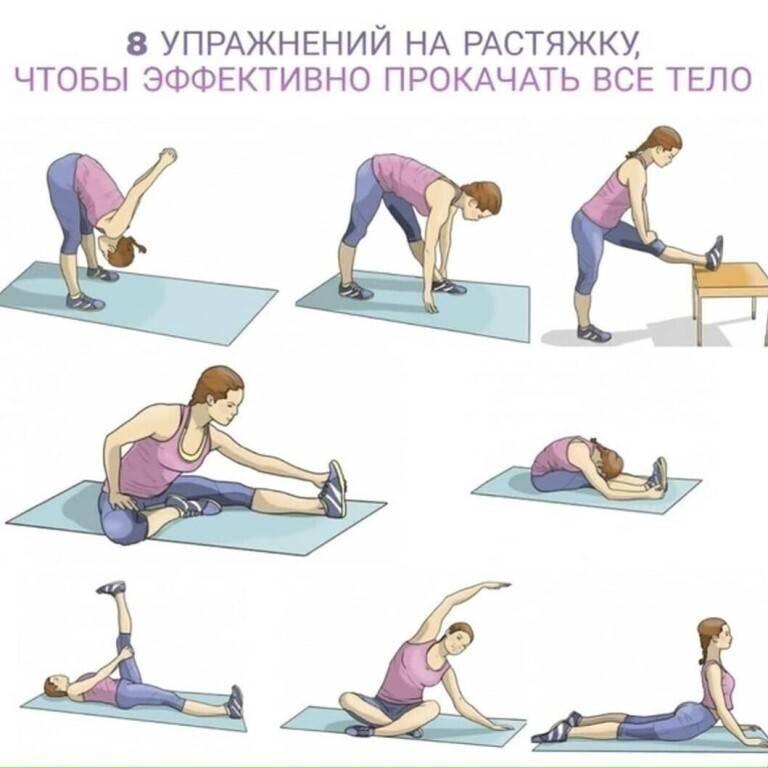 Вечерняя зарядка для похудения в домашних условиях - allslim.ru