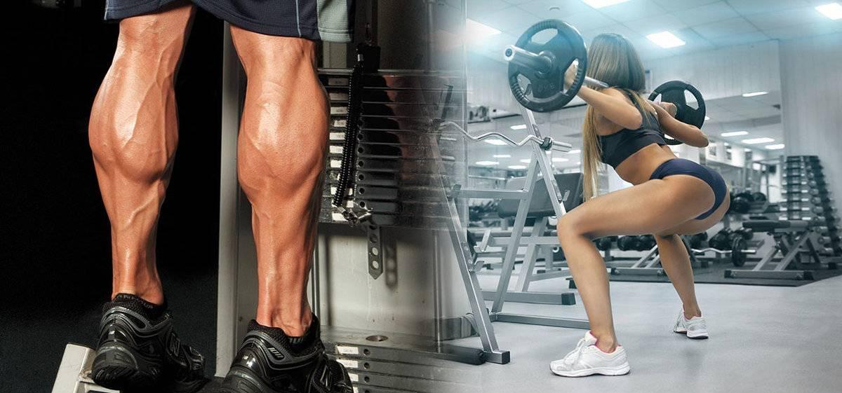 Как похудеть в икрах: правила питания и тренировки