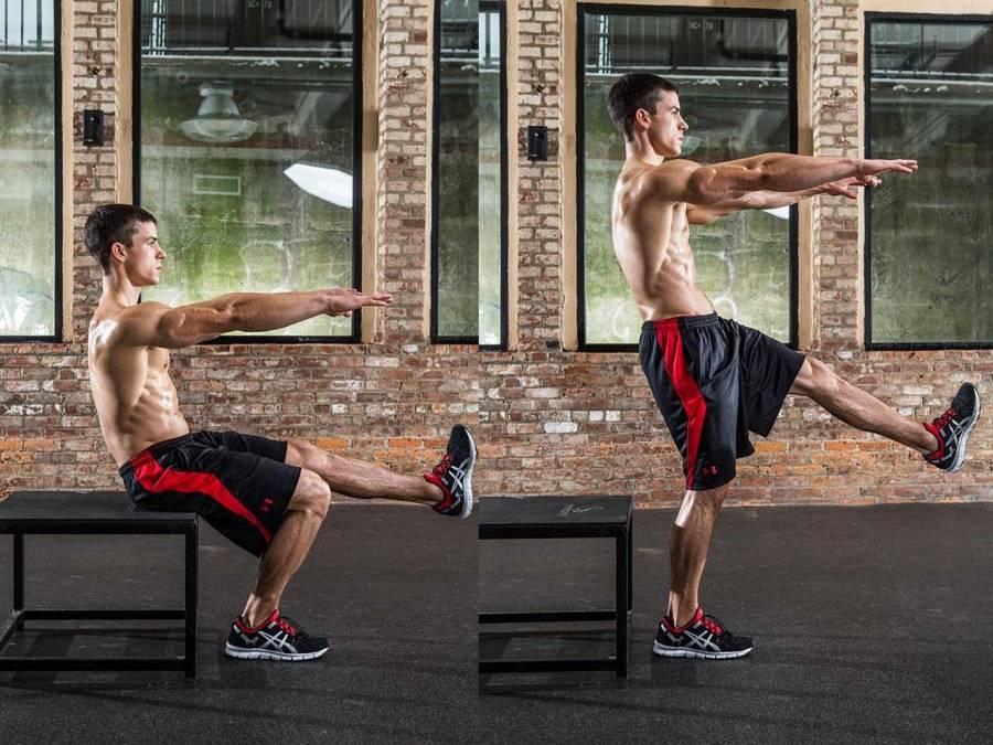С каких мышц начинать тренировку?