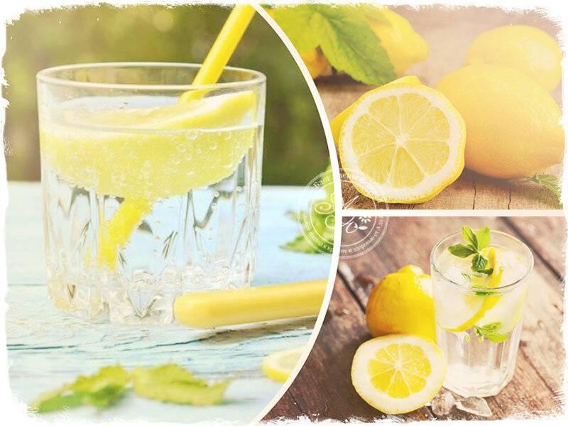 Вода с лимоном для похудения: лучшие рецепты для похудения!