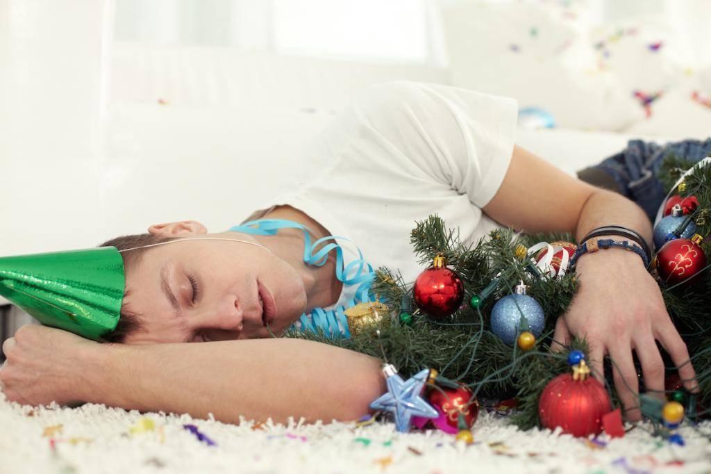 Как быстро восстановиться после новогодних праздников?