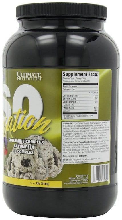Iso sensation 2270 гр - 5lb (ultimate nutrition)