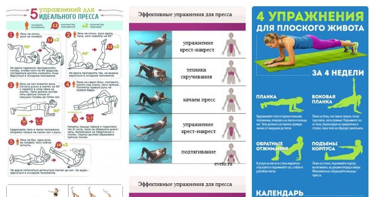 Упражнения для трапеции