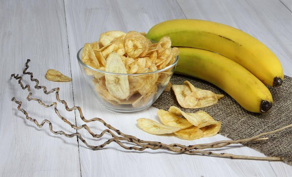 Вяленые бананы в домашних условиях: полезные свойства сушеных плодов и состав, способы сушки и отзывы, советы
