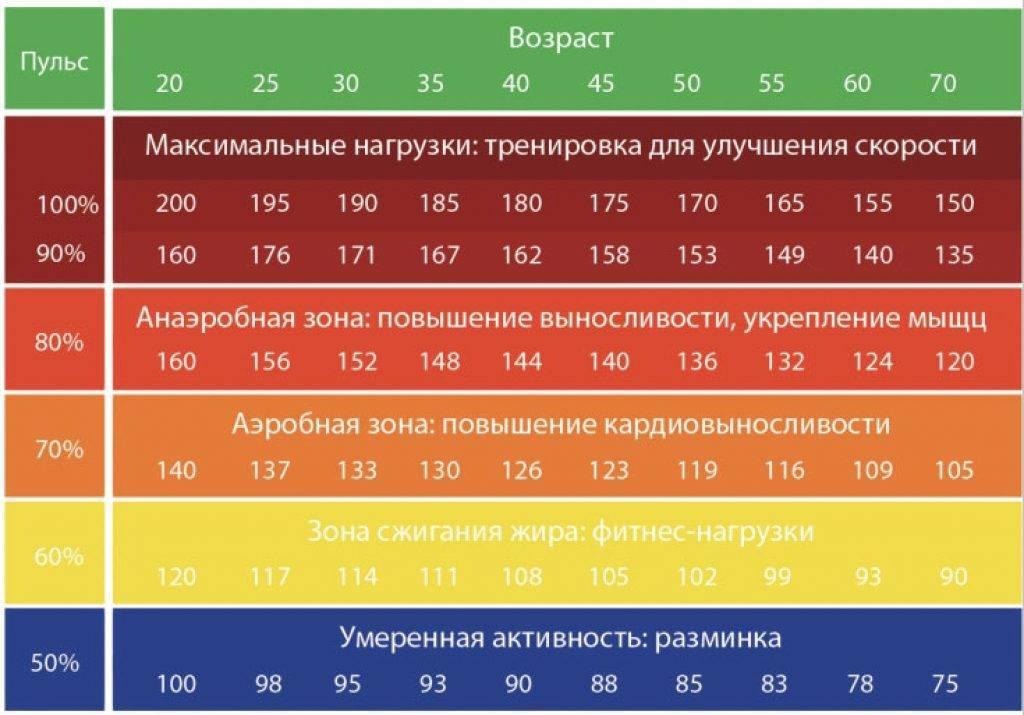 Расчет пульса для сжигания жира: формула карвонена или мчсс для оптимального жиросжигания