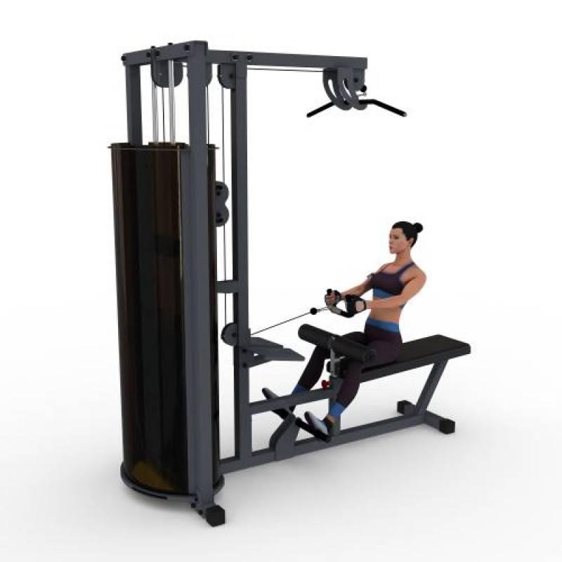 Рычажная тяга в тренажере - супер рост широчайших спины