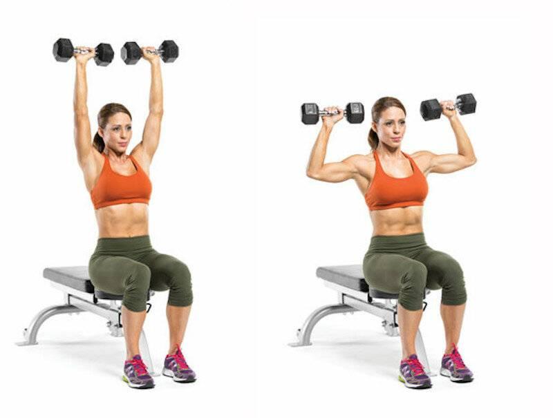 Упражнения на плечи в домашних условиях