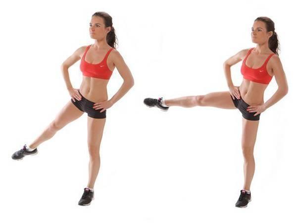 Самые эффективные упражнения от «ушек» на бедрах