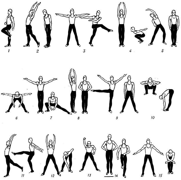 Утренняя зарядка: 8 упражнений для мужчин