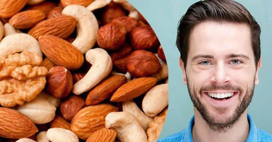 Орехи для повышения мужской потенции