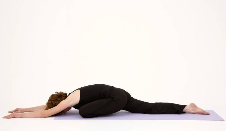 Поза голубя в йоге: техника выполнения для начинающих