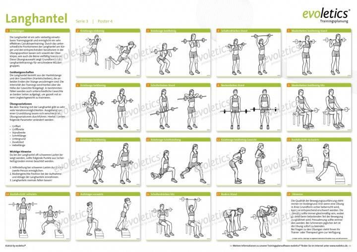 Программа тренировок на всё тело с гантелями, комплекс упражнений в домашних условиях