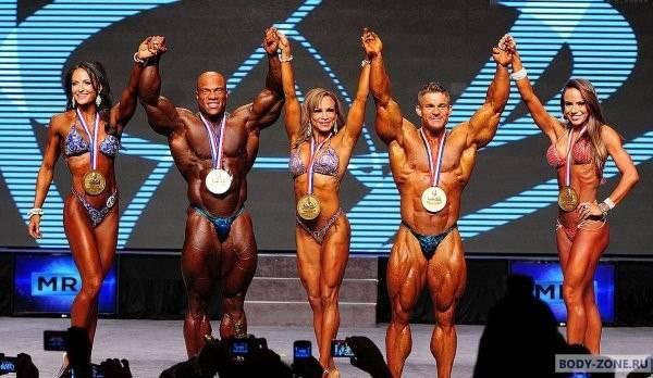6 русских победителей «Арнольд Классик» среди мужчин и женщин: фото на пике формы
