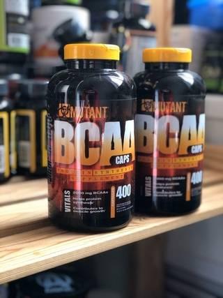 Mutant bcaa 400 капс (mutant) купить в москве по низкой цене – магазин спортивного питания pitprofi