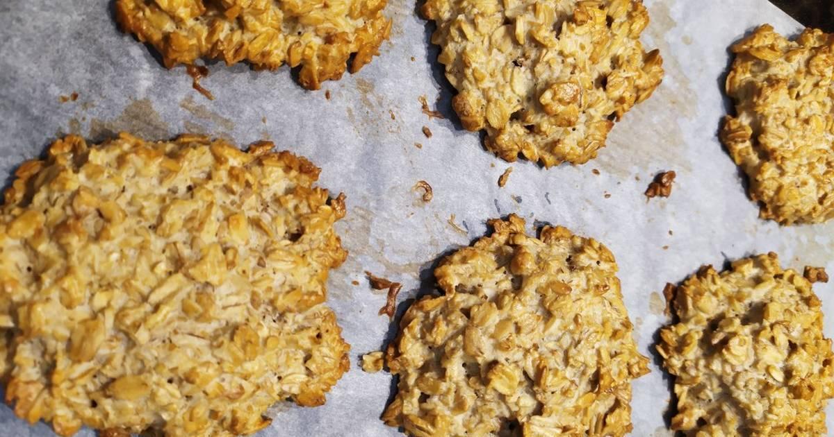Печенье пп из овсяных хлопьев. овсяное печенье в домашних условиях | здоровое питание