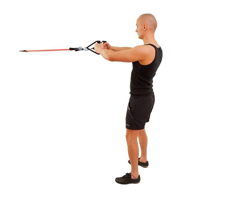 Упражнения с эспандером