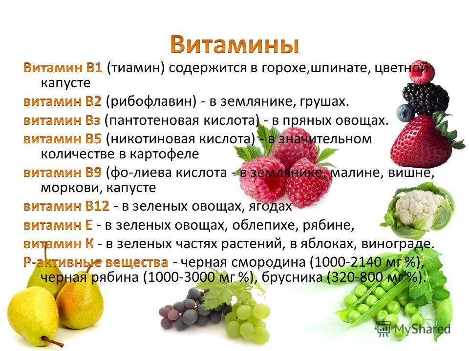 Витамин А — описание и содержание в продуктах