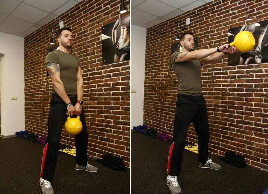 Кроссфит упражнения, кроссфит дома, кроссфит с гирей | wolf workout