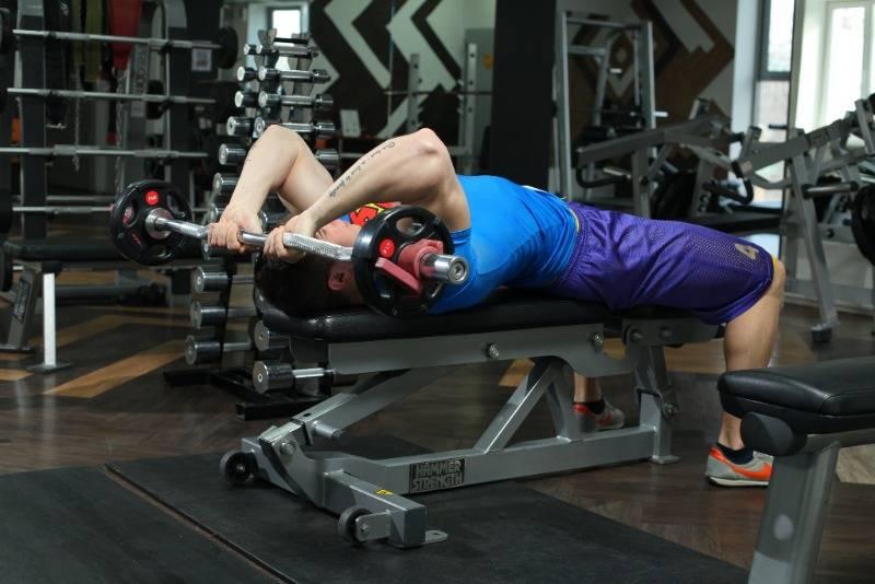 Французский жим лежа – sportfito — сайт о спорте и здоровом образе жизни
