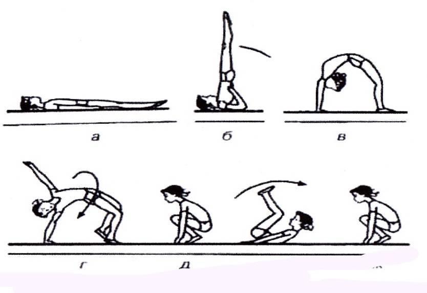 Как вставать на мостик. упражнения на гибкость
