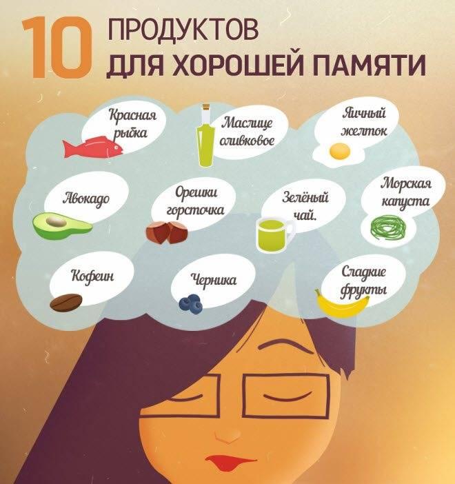 20 продуктов для мозга: какая пища самая полезная для улучшения работы нервной системы и повышения работоспособности человека?