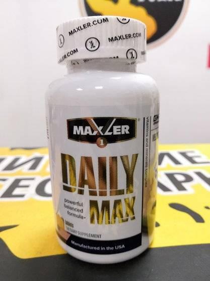 Daily max 120 табл (maxler) купить в москве по низкой цене – магазин спортивного питания pitprofi