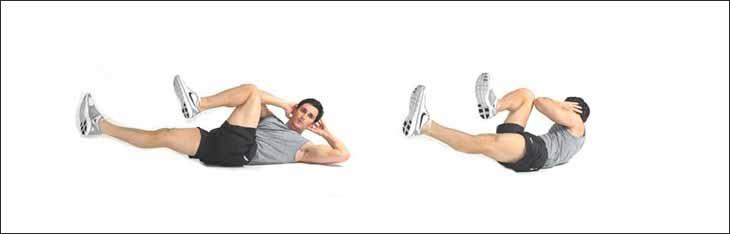 Скручивания на пресс: техника выполнения, все виды упражнения