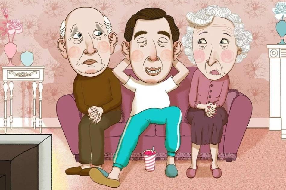 Вы бы стали жить с родителями в зрелом возрасте? | houzz россия
