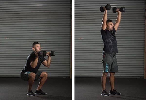 Кроссфит (crossfit) с гирями: упражнения, тренировки и комплексы