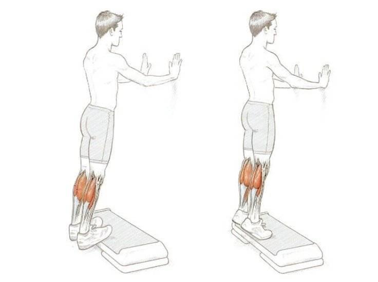 Подъем на носки стоя в тренажере - мощный эффект!