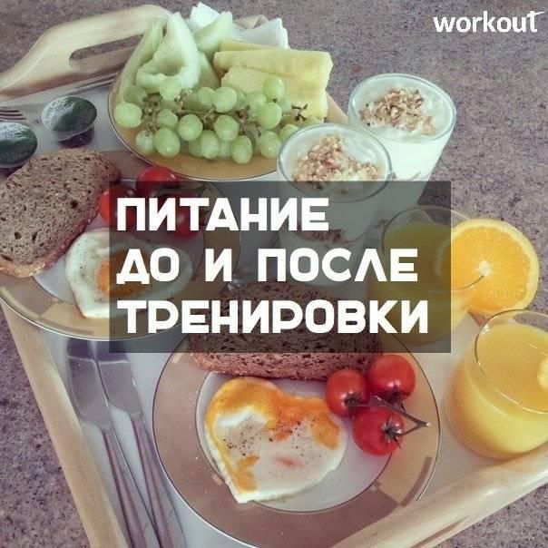 Питание до и после тренировки: советы + 20 рецептов