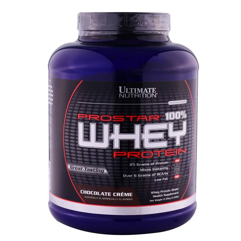 Prostar 100% whey protein 454 гр - 1lb (ultimate nutrition)
