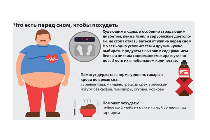 Продукты, которые сжигают жир во время сна