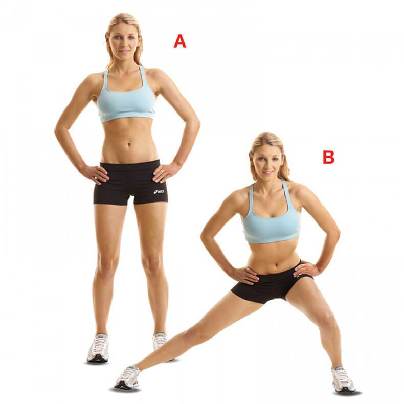 """Как эффективно и быстро убрать """"ушки"""" на бедрах - подборка лучших упражнений"""