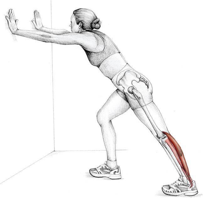 Как растягивать икроножные мышцы? растяжка икр ног