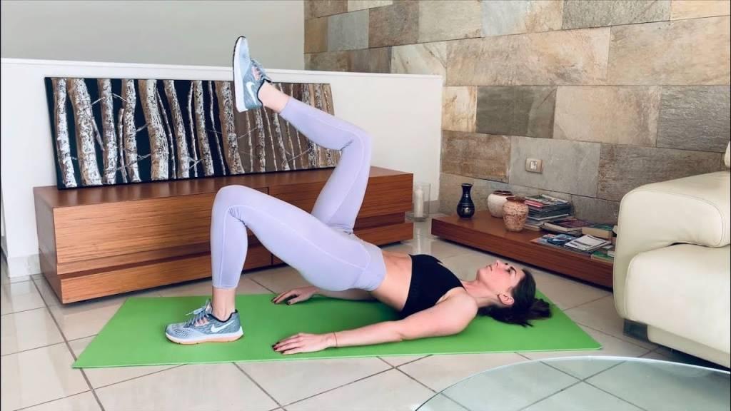 Ягодичный мостик – упражнение для красивой попы