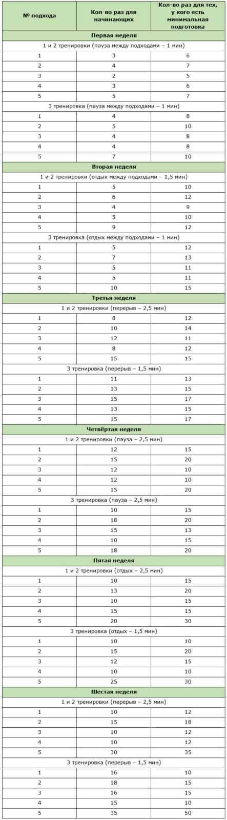 Отжимания для набора мышечной массы   rulebody.ru — правила тела