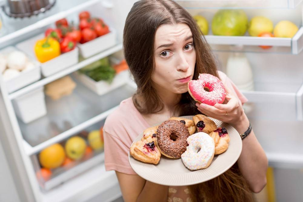 От каких продуктов толстеют женщины, а от каких мужчины?